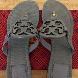 Tory Burch Miller Micro Tejus Sandals